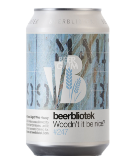Beerbliotek Woodn't It Be Nice? CANS 33cl