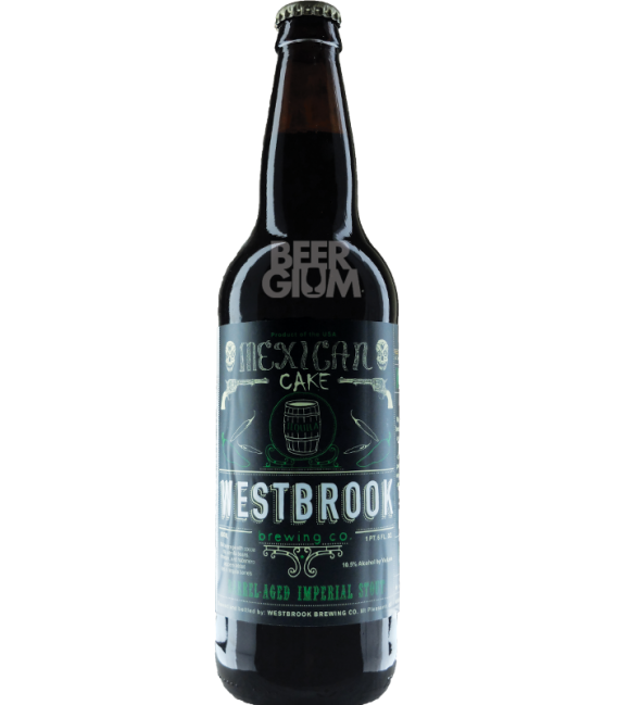 Westbrook Mexican Cake Imperial Stout 2016 Tequila Barrel 65cl