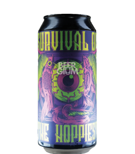 Stigbergets / Cervisiam Survival of the Hoppiest CANS 44cl - BBF 18-12-2019
