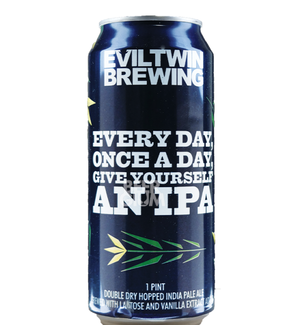 Evil Twin Every Day, Once A Day, Give Yourself An IPA CANS 47cl