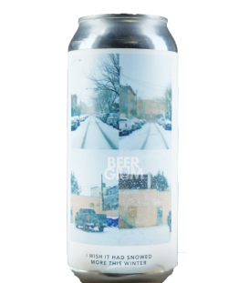 Evil Twin NYC I Wish It Had Snowed More This Winter CANS 47cl