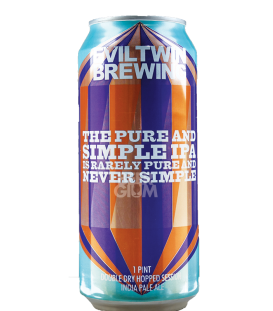 Evil Twin The Pure and Simple IPA Is Rarely Pure and Never Simple CANS 47cl