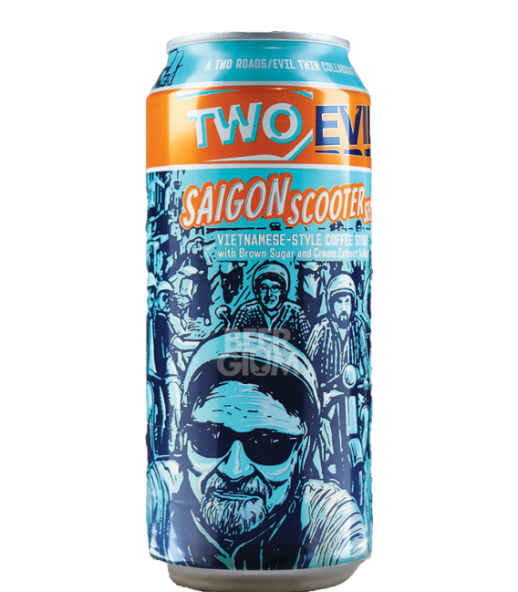 Two Roads / Evil Twin Saigon Scooter Selfie CANS 47cl