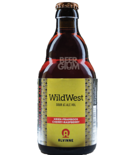 Alvinne Wild West Kriek-Framboos / Cherry-Raspberry 33cl