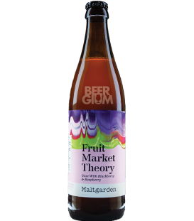 Maltgarden Fruit Market Theory (Blackberry & Raspberry) 50cl