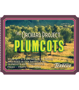 Bruery Terreux The Orchard Project: Plumcots 37cl
