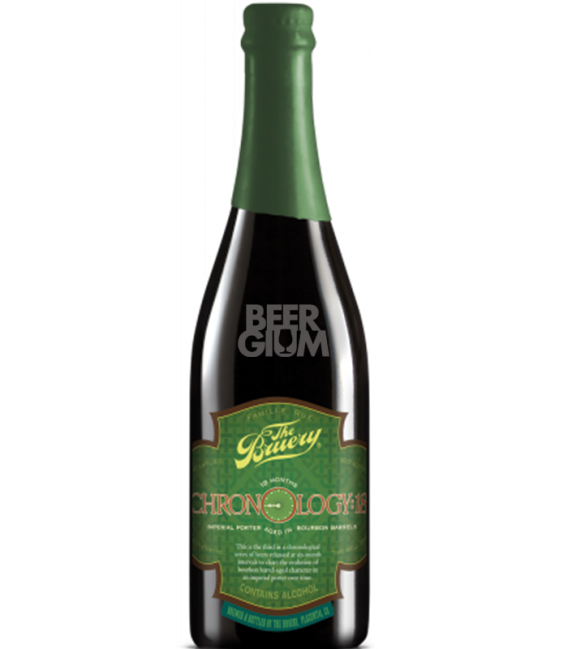 The Bruery Chronology 18 Imperial Porter 75cl