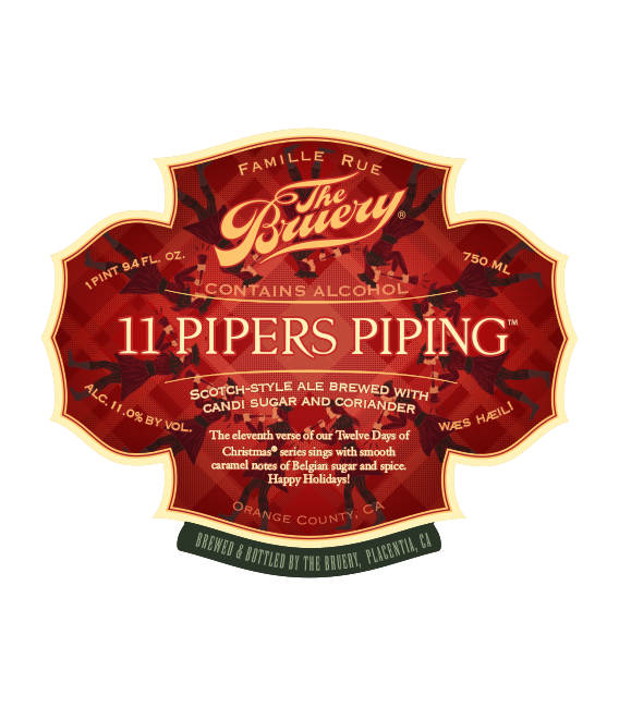 The Bruery 11 Pipers Piping 75cl