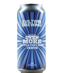 Evil Twin Even More Little Tiny Baby Jesus CANS 47cl