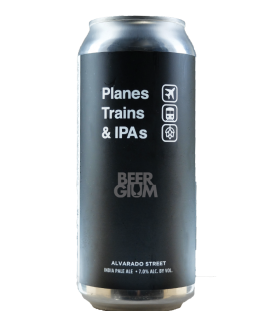 Alvarado Planes, Trains and IPA's CANS 47cl