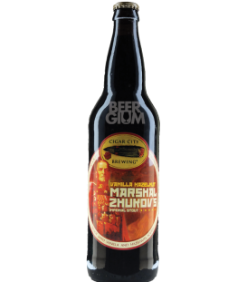 Cigar City Marshal Zhukov's Imperial Stout - Vanilla Hazelnut 65cl