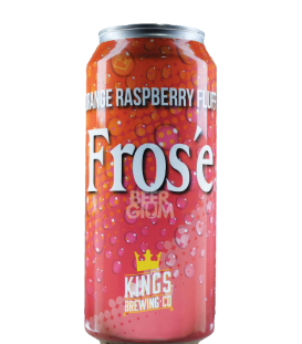 Kings Orange Raspberry Fluff CANS 47cl