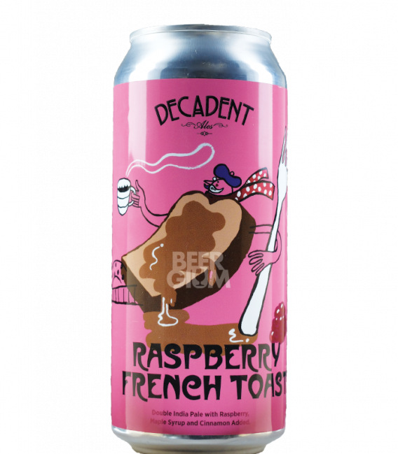 Decadent Ales Raspberry French Toast CANS 47cl