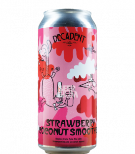 Decadent Ales Strawberry Coconut Smoothie CANS 47cl