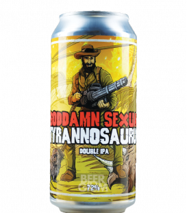 Staggeringly Good Goddamn Sexual Tyrannosaurus CANS 44cl