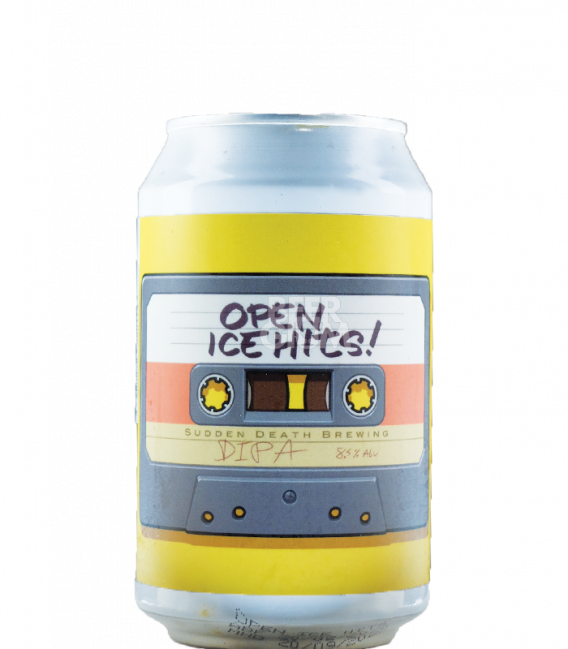 Sudden Death Open Ice Hits CANS 33cl