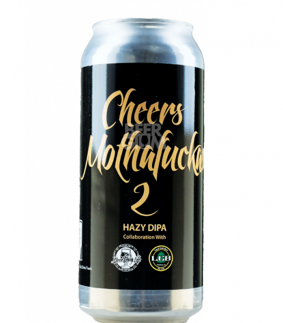 Local Craft Beer / Beer Thug Life Cheers MothaFuckas 2 CANS 47cl