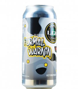 Local Craft Beer / Revision Formal Warnin CANS 47cl