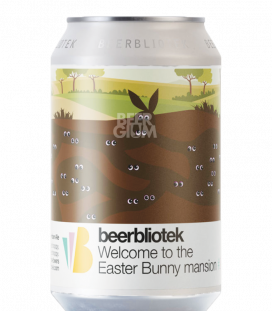 BeerBliotek Welcome to the Easter Bunny Mansion CANS 33cl