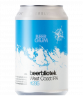 BeerBliotek West Coast IPA CANS 33cl
