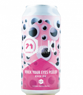 71 Brewing Kveik Your Eyes Peeled CANS 44cl