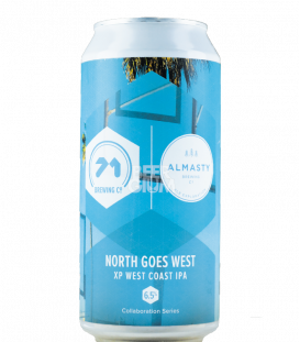 71 Brewing North Goes West CANS 44cl