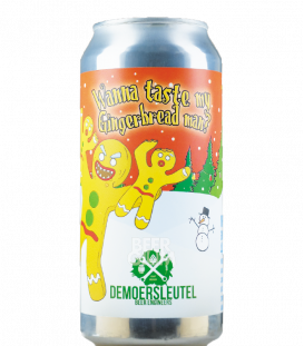 De Moersleutel Wanna Taste my Gingerbread Man CANS 44cl