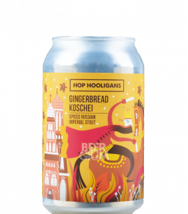 Hop Hooligans Gingerbread Koschei CANS 33cl