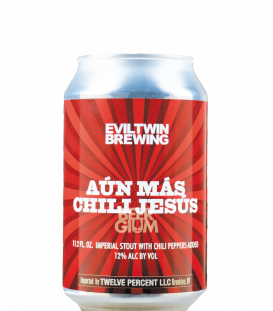 Evil Twin Aun Mas Chili Jesus CANS 33cl