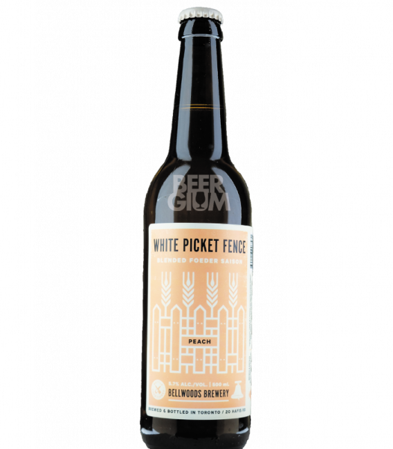 Bellwoods White Picket Fence Peach 50cl