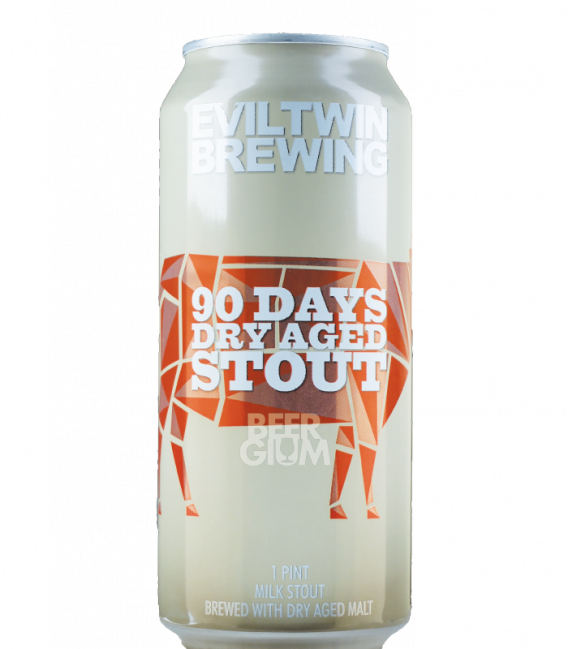 Evil Twin 90 Days Dry Aged Stout CANS 47cl