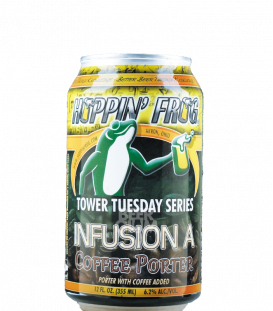 Hoppin' Frog Tower Tuesday Infusion A - Coffee Porter CANS 35cl