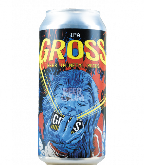 BrewGross Beer in Metal CANS 44cl