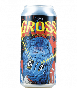 BrewGross Beer in Metal CANS 44cl