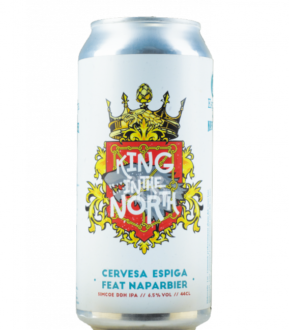 Espiga / Naparbier King of the North CANS 44cl