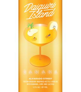 Alvarado Daiquiri Island Banana CROWLER 50cl