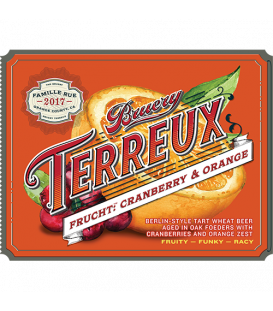 The Bruery Terreux Frucht Cranberry & Orange CROWLER 50cl