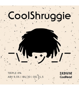 Zagovor CoolShruggie ¯_(ツ)_/¯ CROWLER 50cl