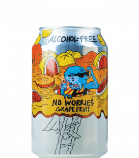 Lervig No Worries Grapefruit CANS 33cl