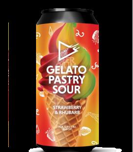 Funky Fluid Gelato: Strawberry & Rhubarb CANS 50cl