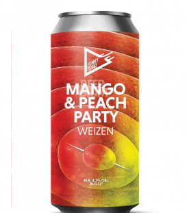 Funky Fluid Mango & Peach Party CANS 50cl