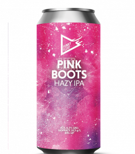 Funky Fluid Pink Boots CANS 50cl