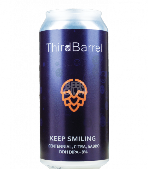 Third Circle Keep Smiling CANS 44cl