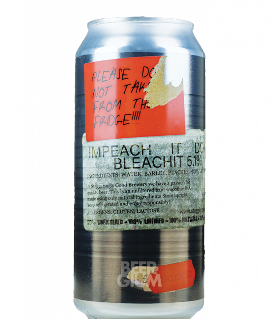 Staggeringly Good Impeach It Don't Bleach CANS 44cl
