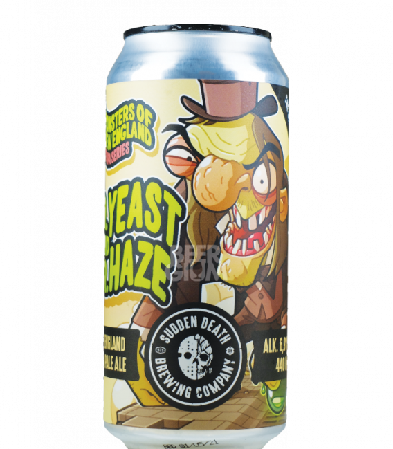 Sudden Death Dr. Yeast And Mr. Haze CANS 33cl