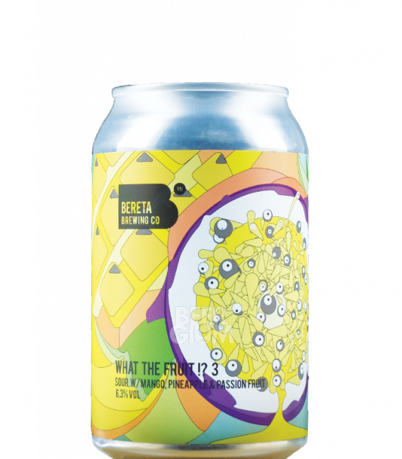 Bereta What the Fruit!? 3  CANS 33cl