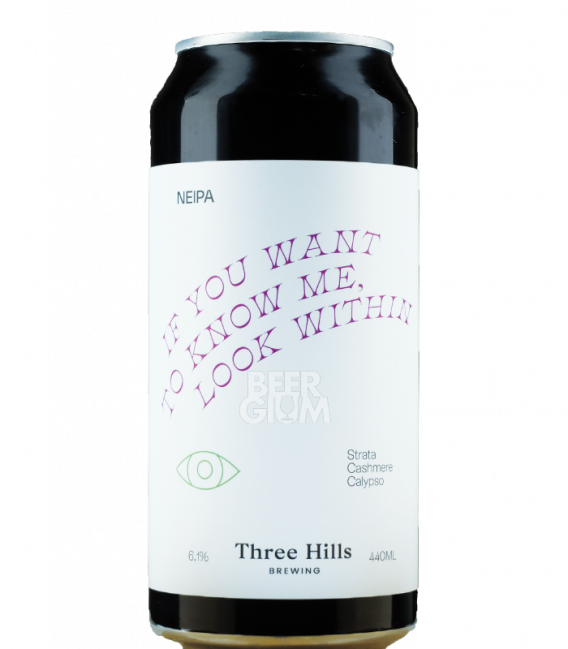 Three Hills If You Want To Know Me, Look Within  CANS 44cl