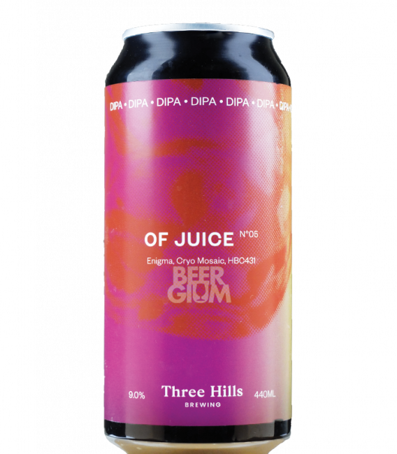 Three Hills Of Juice No.5  CANS 44cl