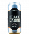Verdant Black Lager  CANS 44cl - BBF 28-01-2021