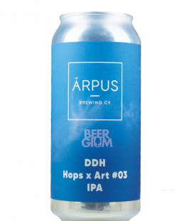Arpus Brewing DDH Hops x Art 03 IPA CANS 44cl